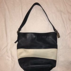 Rugby Leather Bucket Bag